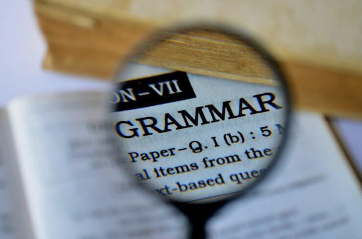 文法を勉強するときのポイント